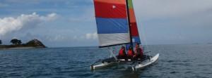 Balade nautique en catamaran