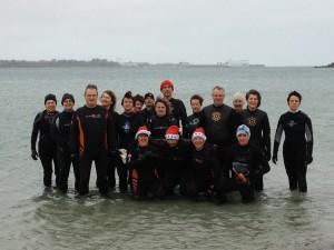 Marche aquatique de Noël 2012