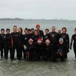 Marche aquatique le 1er janvier à 15h