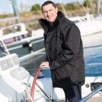Le Président du Centre Nautique partenaire du Tour du Finistère à la voile
