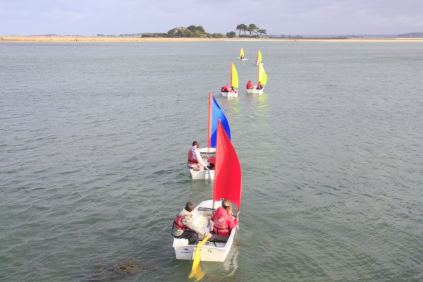 Les scolaires sur l'eau en novembre
