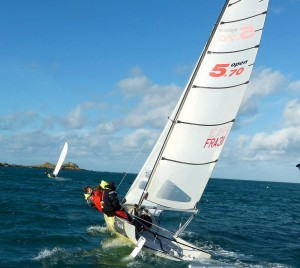 Les 2 Open 5.70 de la Baie de Morlaix