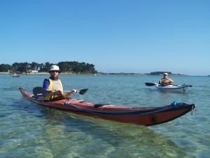 Sortie en kayak de mer dans le Laber