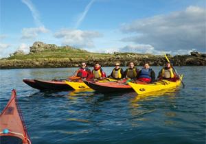 Kayak de mer le dimanche matin