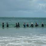 Marche aquatique en juillet et août (samedi et dimanche)