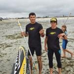 Démo de paddle : Faustine Merret à Saint-Pol