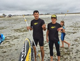 Démo de paddle avec Faustine Merret