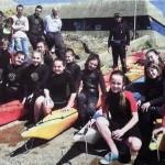 Marche aquatique et kayak : les ados séduits
