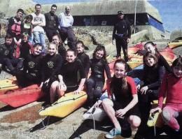 Marche aquatique et kayak pour les ados